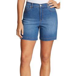 Gloria Vanderbilt Petite Denim Shorts