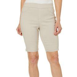 Erika Petite Joey Pull On Bermuda Shorts