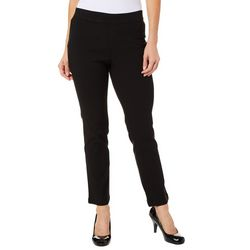 Erika Petite Pull-On Joey Solid Twill Pants