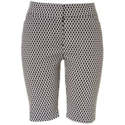 ATTYRE Petite Printed All Over Shorts