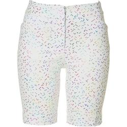 Petite Confetti Printed Bermuda Shorts