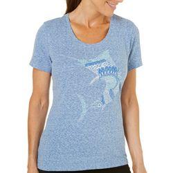 Reel Legends Petite Reel Fresh Zentangle T-Shirt