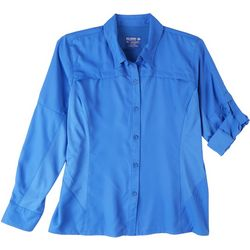 Reel Legends Petite Freewater Long Sleeve Vented Shirt