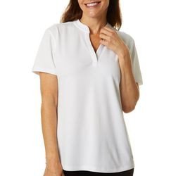 Reel Legends Petite Freeline Solid Diamond Texture Top