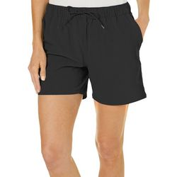 Reel Legends Petite Solid Pull On Shorts