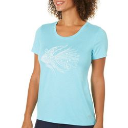 Reel Legends Petite Angelfish T-Shirt