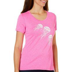 Reel Legends Petite Jellyfish T-Shirt