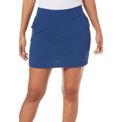 Reel Legends Petite Solid Adventure Skort