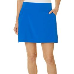 Reel Legends Petite Adventure Solid Skirt