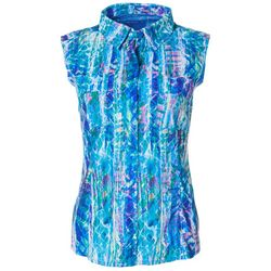 Reel Legends Womens Saltwater Rainbow Skin  Sleeveless Top
