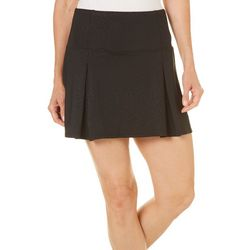 Reel Legends Petite Keep It Cool Deboss Skort