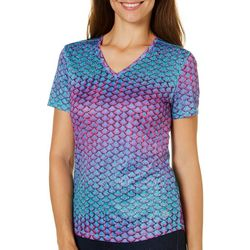 Reel Legends Petite Freeline Exotic Texture Top