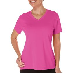 Reel Legends Petite Freeline V-Neck Top
