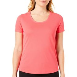 Reel Legends Petite Freeline Scoop Neck Top