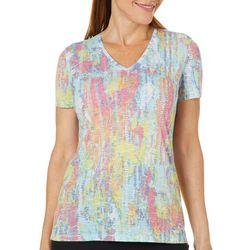 Reel Legends Petite Colorful Tracks T-Shirt