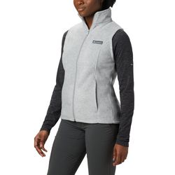 Columbia Petite Benton Springs Zip Fleece Vest