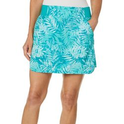 Reel Legends Petite Weathered Palms Adventure Skort