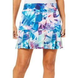 Reel Legends Petite Keep It Cool X-Ray Palm Skort