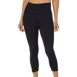 Reel Legends Petite Keep It Cool Performance Solid Capris