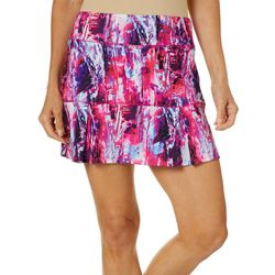 Reel Legends Petite Keep It Cool Flash Flood Skort