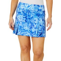 Reel Legends Petite Keep It Cool Underwater Palms Skort