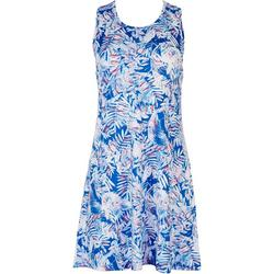 Petite Keep It Cool Palm Movement Dress
