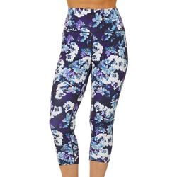 Reel Legends Petite Keep It Cool Modern Floral Capris