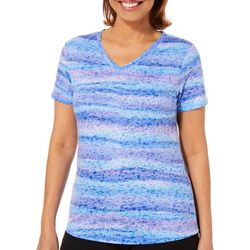 Reel Legends Petite Reel Fresh Twinkle Stripes T-Shirt