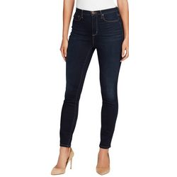 Vintage America Womens Wonderland High Rise Skinny Jeans