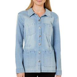 Vintage America Womens Getty Denim Jacket