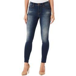 Vintage America Womens Seamless Denim Skinny Jeans