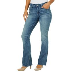 Vintage America Womens Wonderland Whiskered Boot Cut Jeans