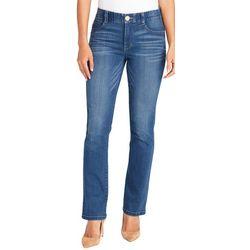 Vintage America Womens Body Sculpting Straight Leg Jeans