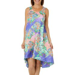 Leoma Lovegrove Womens Fish T-Shirt Dress