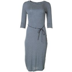 Emma & Michelle Womens Stripe Maxi Dress