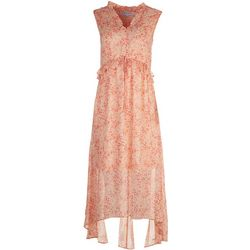 Emma & Michelle Womens Soft Floral Maxi Dress