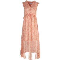 Womens Soft Floral Maxi Dress