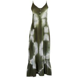 Millenium Clothing Inc. Womens Tie-Dye Maxi Dress