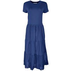 GRACE + KARMA Womens Lace Hem Maxi Dress