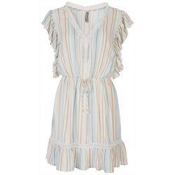 American Rag Womens Boho Striped Dress