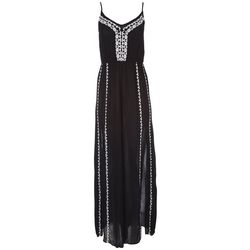 American Rag Womens Embroidered Maxi Dress