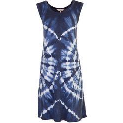 Womens Cool Tie-Dye Tank Dress