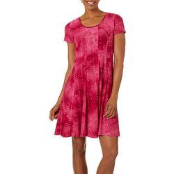Sami & Jo Womens Sequin Fiesta Dress