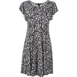 Womens All Over Floral Midi Dress