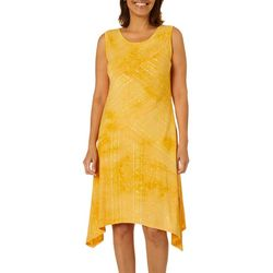 Sami & Jo Womens Fiesta Hanky Sleeveless Dress