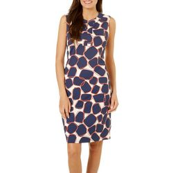 Sami & Jo Womens Stone Shift Dress