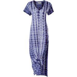 Wonderlux Womens Tie-Dye Maxi Dress