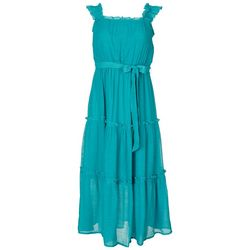 Luxology Womens All Tiered Dress