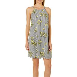 Luxology Womens Striped Floral Sundress