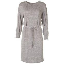 Luxology Womens Long Sleeve Sweater Dress